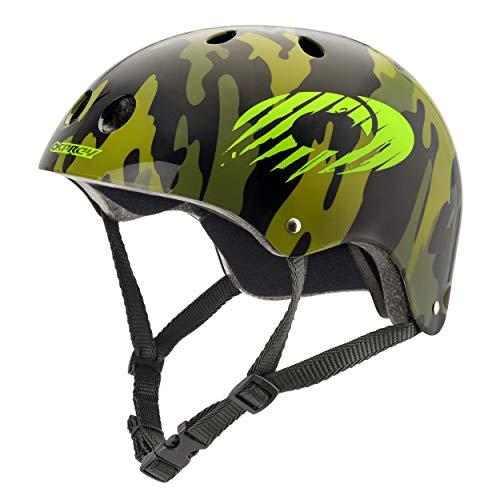 Osprey Kids Skate Helmet - Adjustable BMX, Skate Scooter Bike Helmet 11 Vents – Multiple Designs