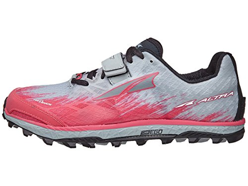 Altra King MT 1.5 Wom Shoe Gray/Pink 6.0 B