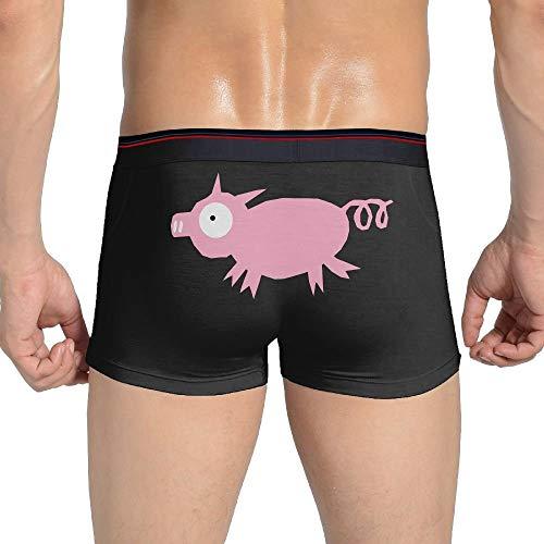 Web--ster Piggy Men´s Custom Unterwäsche Boxershorts Größe L.