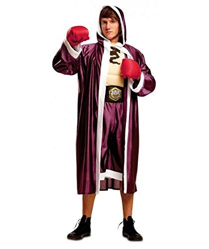 My Other Me Me-201012 Deportistas Disfraz de púgil para hombre, M-L (Viving Costumes 201012)