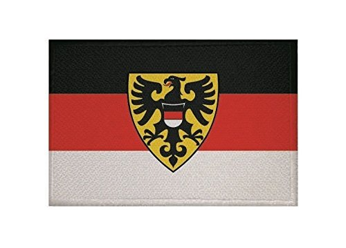 U24 Aufnäher Reutlingen Fahne Flagge Aufbügler Patch 9 x 6 cm