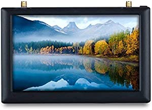 FXT FX508 FPV Moniter High Brightness 5 inch 800x480 5.8GHz Diversity Receiver Monitor with DVR and HD Port with Sunshade