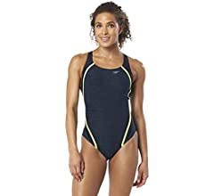 Speedo Women's Heather Two Piece Swimsuit 2017
