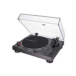 Direct-drive, DC servo motor Adjustable dynamic anti-skate control Selectable 33/45/78 RPM speeds Convert records to digital files via the USB output Professional anti-resonance, die-cast aluminium platter with felt mat AT-HS6 universal ½''- mount he...