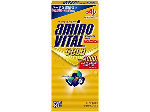 味の素 アミノバイタル ゴールド ワンデーパック 4.7g×3本入