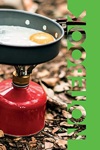 Notebook: Camping Stove Handy Composition Book for Backpacking Checklist