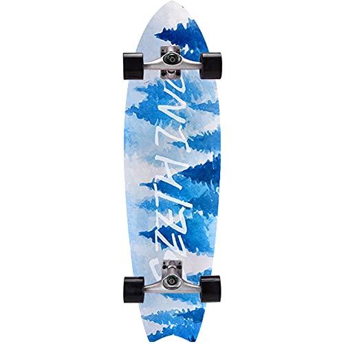 Monopatín para Adultos monopatín Callejero CX4 camión Tabla de Surf de Arce de 8 Capas 31 x 8 Pulgadas niños Adolescentes niños y niñas monopatín-Style 07