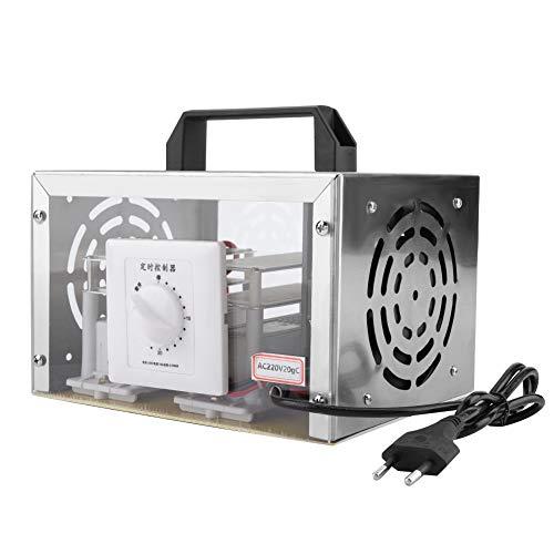 Acogedor Ozono Esterilizador de Ozono Desodorante de Aire 20g/h Ozono Diferente Temporizador para Baños Cocinas, Oficinas, Hoteles, Talleres