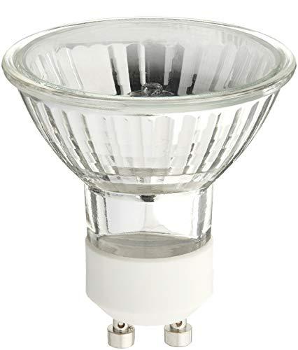 STERL LIGHTING SL-0284 - PACK OF 6 - 50 WATT, GU10 BASE, 120 VOLT, MR16 WITH UV GLASS COVER, HALOGEN FLOOD LIGHT BULB, Q50MR16/FL/GU10