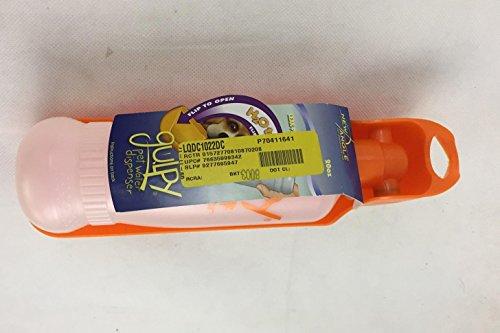 GULPY Water Dispenser for Pet, 20-Ounce, Orange