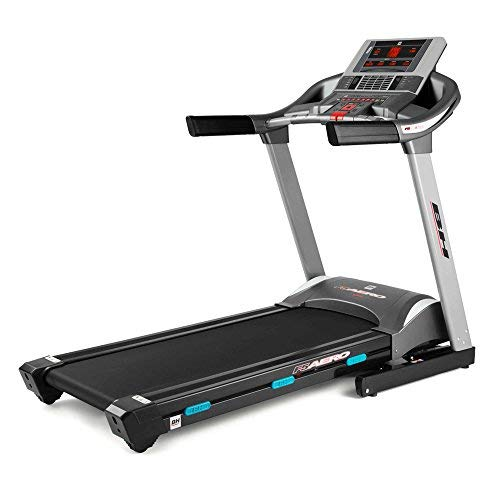 BH Fitness i.F5 AERO G6427I - Tapis Roulant Elettrico, Pieghevole, Inclinazone elettrica fino al 12%, Peso massimo 130 kg, Velocità 1-22 km/h
