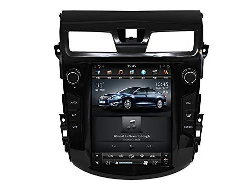 WXHHH Sat Nav para Nissan TEANA 2013-2016 10.4 Pulgadas Coche GPS Navegación Multimedia Sistema Multimedia Navegador satelital DVD Player Auto Radio Estéreo,2+32
