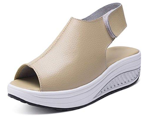Hishoes sandalias de cuña