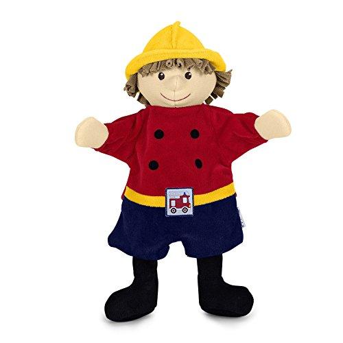 Sterntaler 3601643 Handpuppe Feuerwehrmann, 30 x 27 x 10 cm, Mehrfarbig