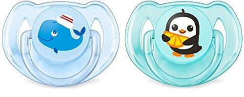 Philips AVENT SCF169/37 - Chupete (Chupete clásico para bebés, Silicona, Multicolor, 6 mes(es), 18 mes(es), Inglaterra)