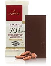Tableta De Chocolate Negro Puro 70% Cacao - 75 Gramos