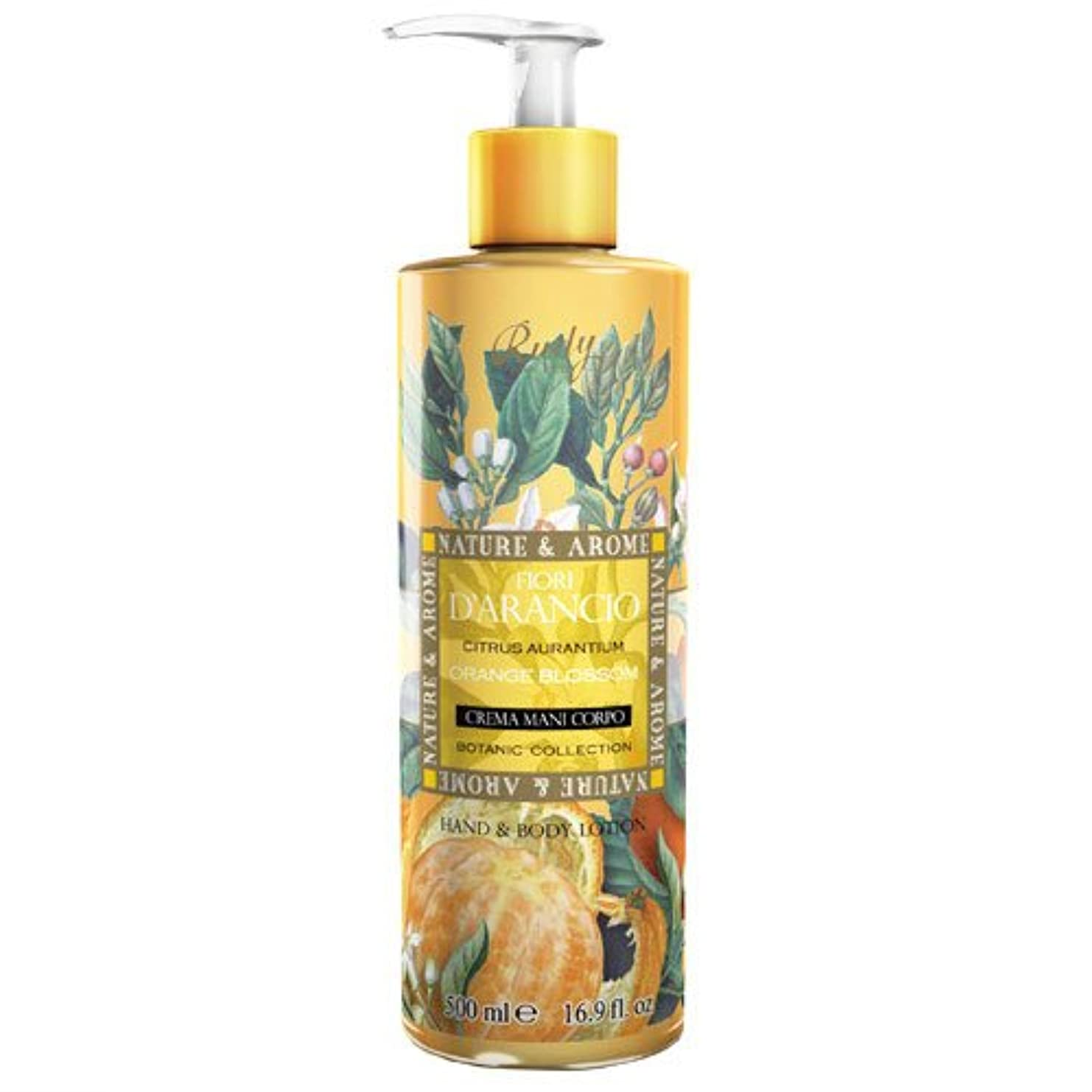 ラベレジデンス特定のRUDY Nature&Arome SERIES ルディ ナチュール&アロマ Hand&Body lotion ハンド&ボディローション オレンジブロッサム