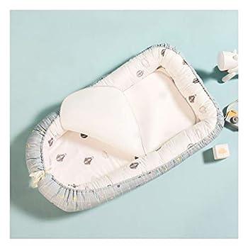 Matelas pour bébé Assorti Yeux de Filet de Glace Respirant délicat Tapis Doux sans Papier Lavable pour bébé (Color : Blue)