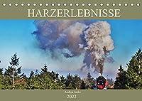 Harzerlebnisse (Tischkalender 2022 DIN A5 quer): Ein kleiner Einblick in den romantischen Harz (Monatskalender, 14 Seiten )