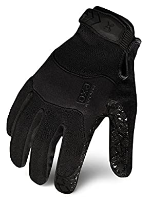 Ironclad EXOT-GBLK-22-S Women's Tactical Operator Grip Glove, Stealth Black, Small