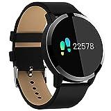Gimnasio Smart Watch Hombres Mujeres Pantalla OLED Monitor de Ritmo Cardíaco Presión Arterial...