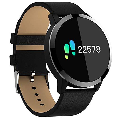 Gimnasio Smart Watch Hombres Mujeres Pantalla OLED Monitor de Ritmo Cardíaco Presión Arterial Touch Podómetro Salud Deporte Reloj para Android iOS