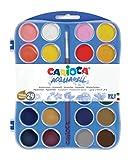 Carioca - Caja 24 Acuarelas con Pincel, 30 mm (K55244000)