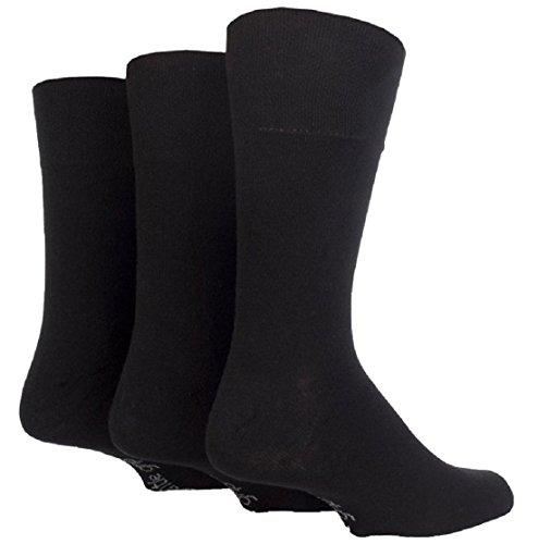 Socke Shop SOMRB96J3BLK Socken, Herren, Uni 12–14schwarz (PK3)