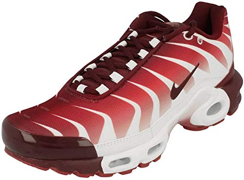 Nike Air Max Plus TN SE Herren Running Trainers AQ0237 Sneakers Schuhe (UK 6 US 7 EU 40, White Team red 101)