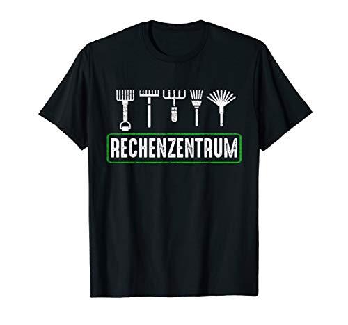 Rechenzentrum Gärtner Natur Landschaftsgärtner Geschenk T-Shirt