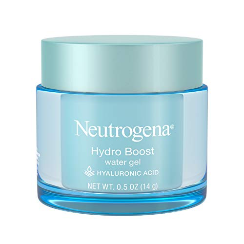 Neutrogena Hydro Boost Hyaluronic Acid Hydrating Water Face Gel Moisturizer for Dry Skin, Oil-Free, Non Comedogenic, Travel Size.5 oz (Pack of 12)