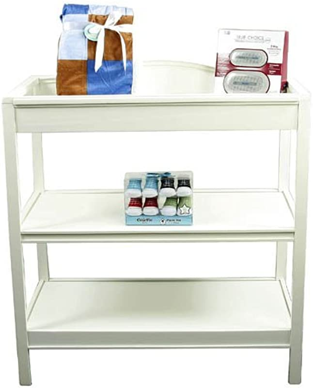Just One Year Changing Table White Finish