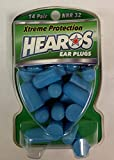 Hearos Xtreme Protection Series Ear Plugs 14 Pairs (Pack of 4)