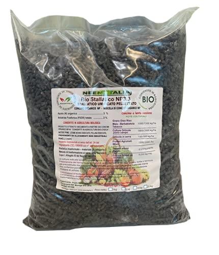 STALLATICO Organico Pellet 5 kg BIO con NEEM