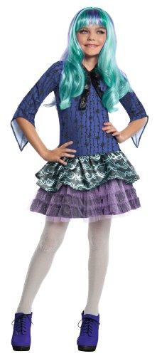 Monster High - Disfraz de Twyla para nia, infantil 5-7 aos (Rubie's 886704-M)
