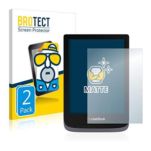 BROTECT 2X Entspiegelungs-Schutzfolie kompatibel mit Pocketbook Touch HD 3 Displayschutz-Folie Matt, Anti-Reflex, Anti-Fingerprint
