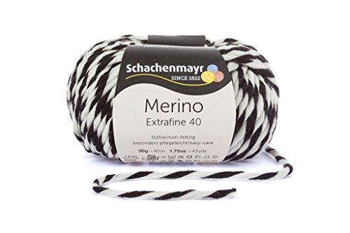 Schachenmayr Merino Extrafine 40 - Farbe 380 - marmor mouline - 50g Wolle