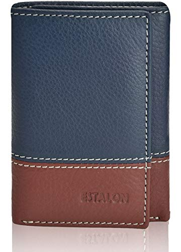 Slim Wallets for Men - Leather RFID Blocking Trifold Wallet with 7 Card Slots…