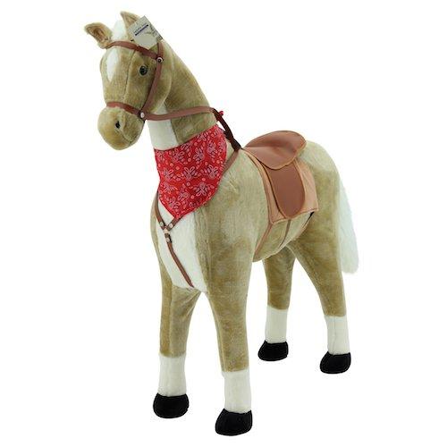 Sweety Toys 5765 pluche paard XXL reuzenpaard staande paard