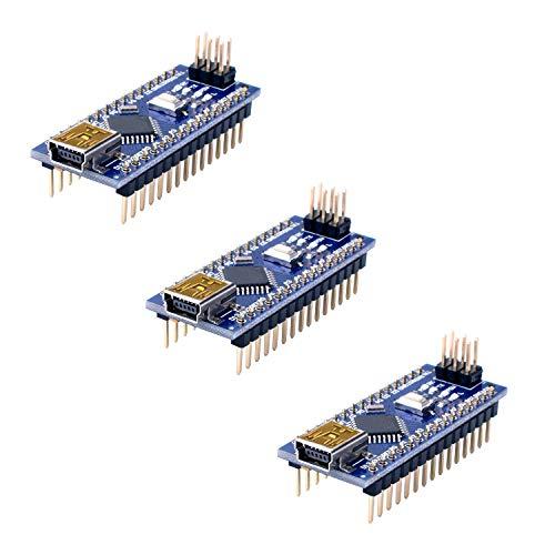 Longruner for ArduinoIDE ATmega328P 5V 16M Micro Controller Board Module for ArduinoIDE 3Pcs