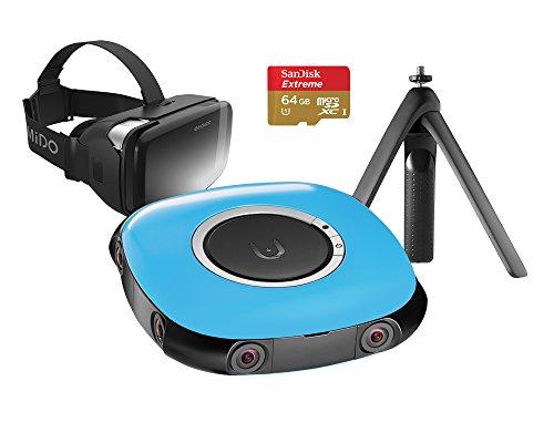 VUZE 3D-360 Grad-4K VR Kamera Bundle Blau