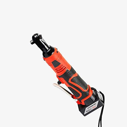Llave de impacto eléctrica de 26V,eléctrica Llave de trinquete eléctrica inalámbrica,Batería de...
