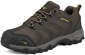NORTIV 8 Men's Low Top Waterproof Hiking Shoes Outdoor Lightweight Trekking Trails 160448-low Brown Black Tan Size 11 M US