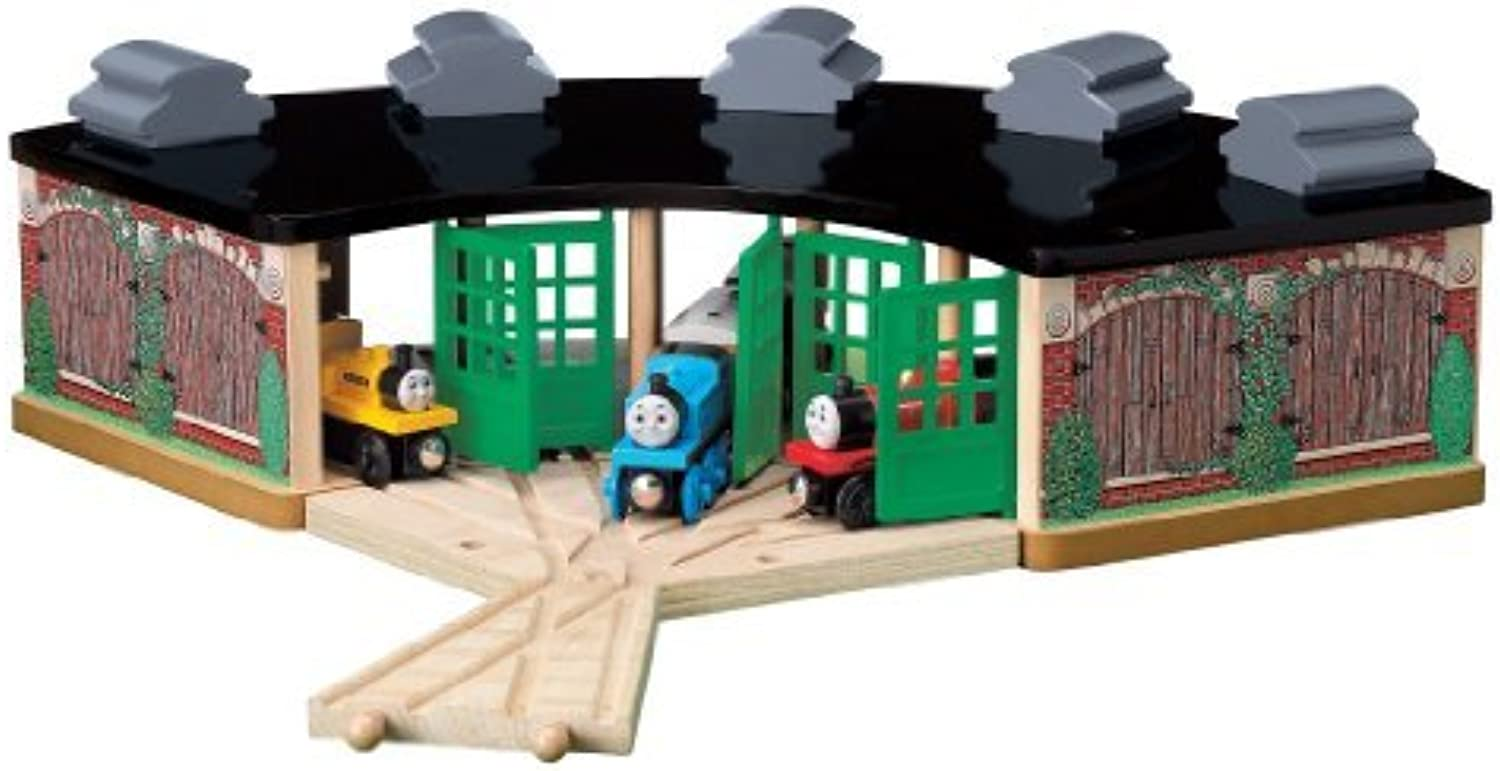 nuevo listado Thomas and Friends Wooden Railway - - - Roundhouse Pack by Learning Curve  buen precio