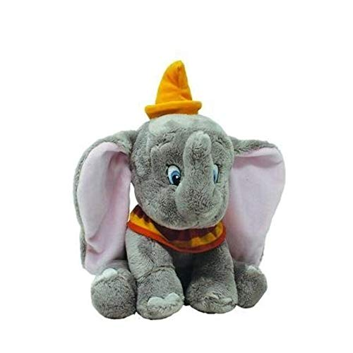 Rainbow Designs RBD-TOY58 Disney Baby Dumbo Kuscheltier 25cm, transparent, 200 g, DN1629, 25cm Mittel