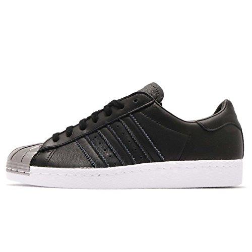 adidas Originals Superstar 80s MT Sneaker, Core Black / Ftwr White, 38 EU