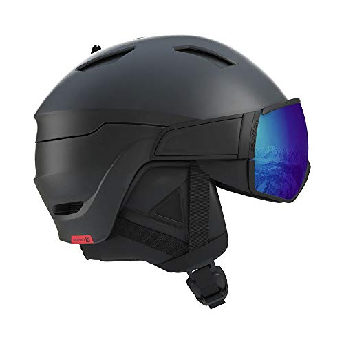 Salomon Driver Photo CD Skihelm schwarz 59-62