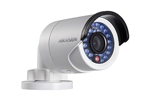 'DS 2cd2042wd telecamera (6mm), Hikvision 1/3CMOS IP mini telecamera per esterni (IP66), 1080p, 6mm obiettivo fisso, 30m IR, 12V DC/PoE