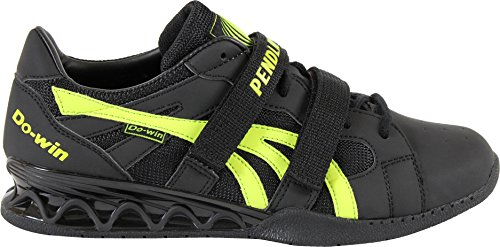2014 Pendlay Limited Edition Do-Win Weightlifting Shoes - Men's Black / Lime Weight Power Lifting...