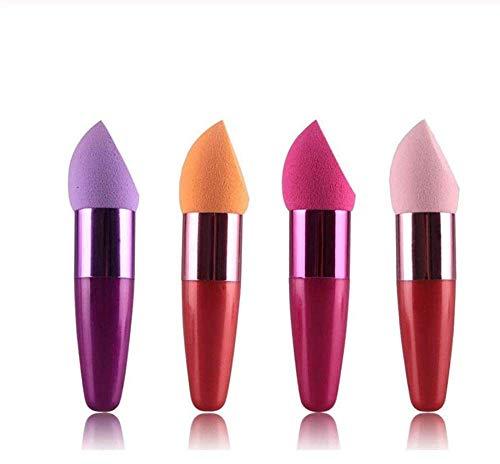 KUSAWE Make-up Schwamm2 STÜCKE Silikon Gel Schwamm Make-Up Puff Lady Face Foundation Kosmetische...